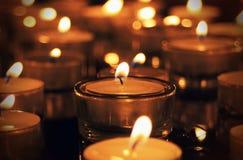 Fuego romántico Imagen de archivo