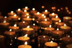 Fuego romántico Imagen de archivo libre de regalías