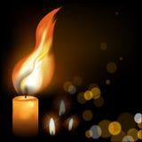 Fuego santo Imagenes de archivo
