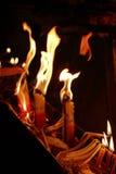 Fuego santo Jerusalén Fotografía de archivo libre de regalías