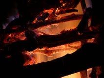 Fuego todopoderoso Imagen de archivo libre de regalías