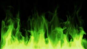Fuego verde tóxico