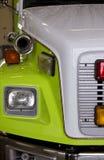 Fuego y carro del rescate Fotos de archivo