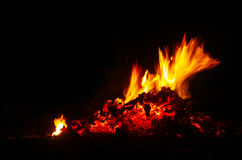 Fuego y llamas Imagenes de archivo