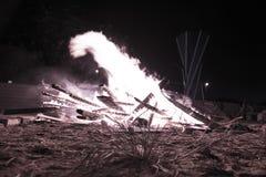 Fuego y llamas Imagen de archivo