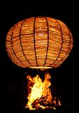Fuego y luz Imagenes de archivo