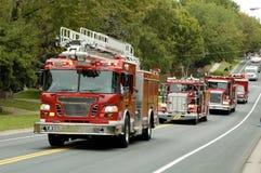 Fuego y rescate 4 Fotografía de archivo libre de regalías