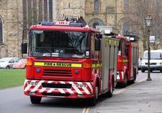 Fuego y rescate Imagenes de archivo