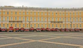 Fuego y rescate St Petersburg, Rusia Fotografía de archivo libre de regalías