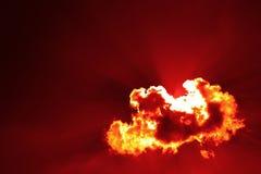 Fuego y sangre Imagen de archivo libre de regalías