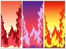 Fuegos ardientes coloridos libre illustration