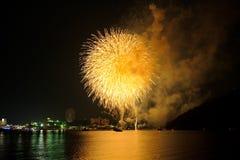 Fuegos artificiales 02 del verano Imagenes de archivo