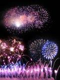 Fuegos artificiales 03 imagen de archivo libre de regalías