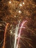 Fuegos artificiales 05 Foto de archivo libre de regalías