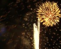 Fuegos artificiales #1 Foto de archivo libre de regalías