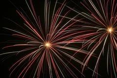 Fuegos artificiales 1 Foto de archivo libre de regalías