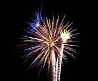 Fuegos artificiales 6 fotos de archivo libres de regalías