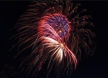 Fuegos artificiales 11 Fotografía de archivo libre de regalías