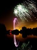 Fuegos artificiales Imagenes de archivo