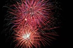 2011 fuegos artificiales Fotos de archivo