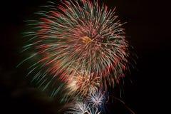 Fuegos artificiales 17 Fotos de archivo libres de regalías