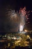 Fuegos artificiales 2008 de Hastings Imagen de archivo