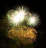 Fuegos artificiales Imagen de archivo