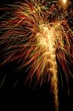 Fuegos artificiales Fotos de archivo