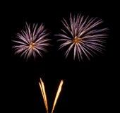 Fuegos artificiales Fotos de archivo libres de regalías