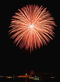 Fuegos artificiales foto de archivo libre de regalías