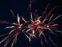 Fuegos artificiales 4 Imagenes de archivo