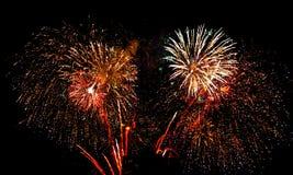 Fuegos artificiales 3 foto de archivo libre de regalías