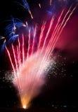 Fuegos artificiales Fotografía de archivo libre de regalías