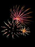 Fuegos artificiales 20 Fotografía de archivo