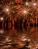 Fuegos artificiales 68 Imagen de archivo libre de regalías