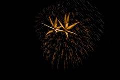 Fuegos artificiales Fotografía de archivo