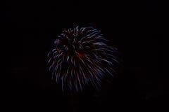 ¡Fuegos artificiales! Imagen de archivo libre de regalías