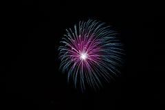 ¡Fuegos artificiales! Imágenes de archivo libres de regalías