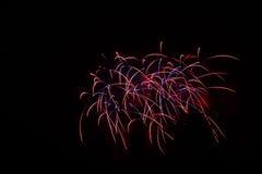¡Fuegos artificiales! Fotos de archivo