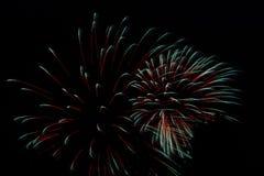 ¡Fuegos artificiales! Imagenes de archivo