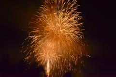 Fuegos artificiales 7 Imagen de archivo
