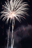 Fuegos artificiales de estallido Fotos de archivo libres de regalías