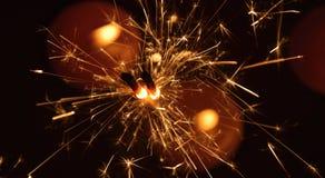 Fuegos artificiales de la bengala Fotos de archivo libres de regalías