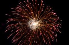 Fuegos artificiales de la celebración Fotos de archivo