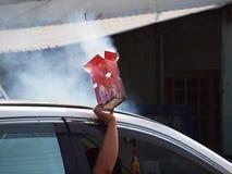 Fuegos artificiales de la elección Foto de archivo