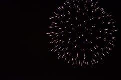 Fuegos artificiales del Año Nuevo en Berlín Imagen de archivo libre de regalías