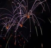 Fuegos artificiales del día de Canadá Imagen de archivo libre de regalías