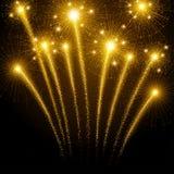 Fuegos artificiales del día de fiesta Foto de archivo libre de regalías