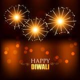 Fuegos artificiales del festival de Diwali
