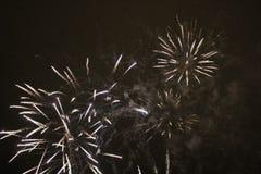 Fuegos artificiales del ` s del Año Nuevo en LuleÃ¥ Fotografía de archivo libre de regalías